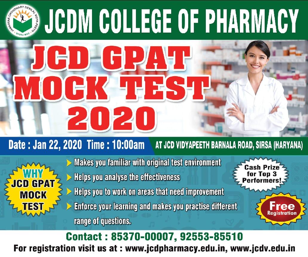 JCD GPAT 2020